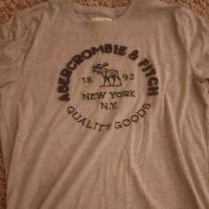 A&F logo t shirt